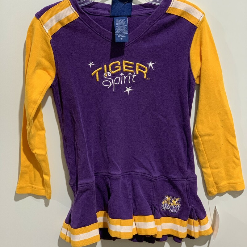2pc LSU Cheer Dress.