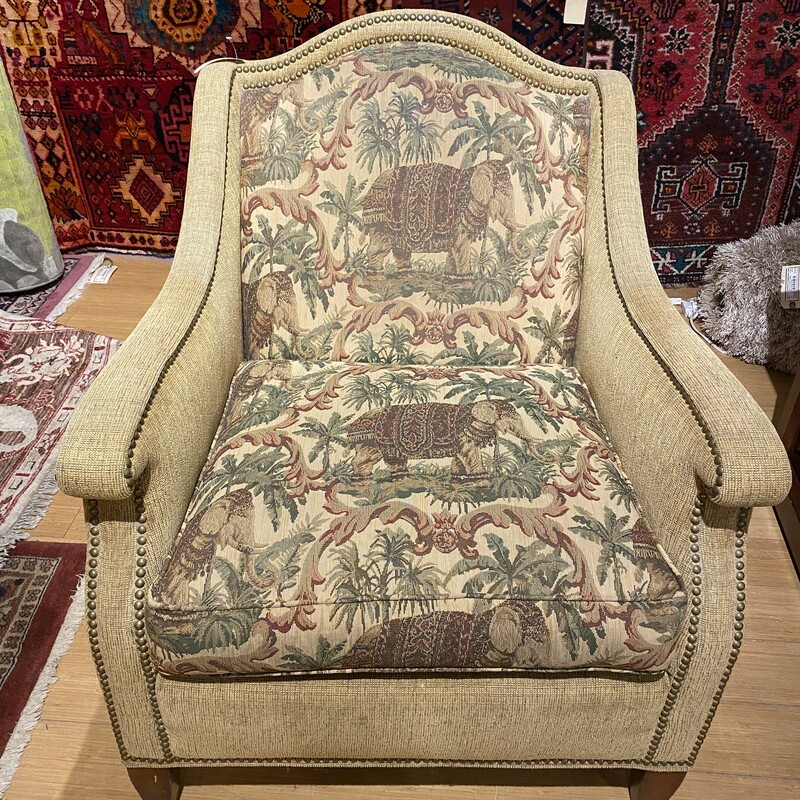 Brandon Upholstered Chair  Size: 30x29x36
