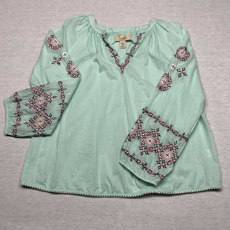 Embroidered Blouse.