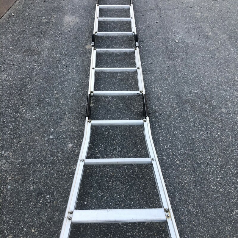 POSTEP 12' Multiposition Ladder, 225 Lb Capacity