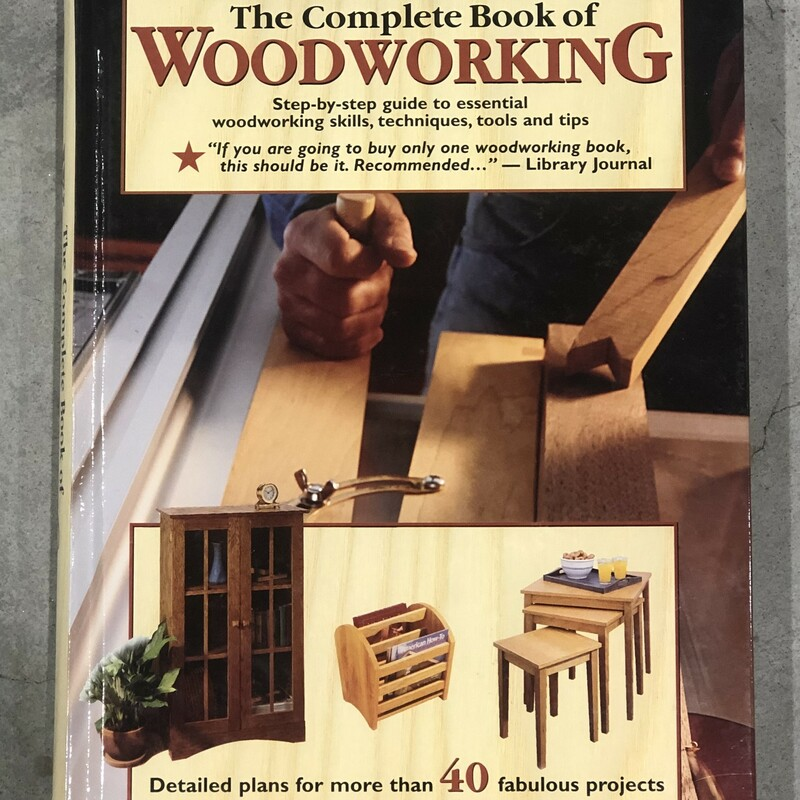 Book Of Woodworking.
