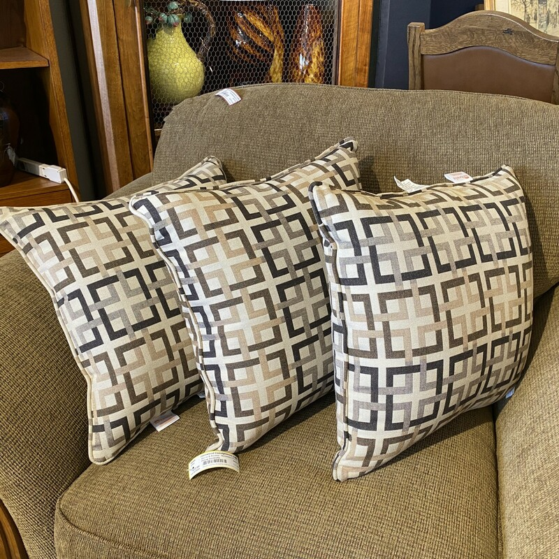 Sunbrella Pillows Size: 17x17<br /> Two more available: Items #85064 & 85065
