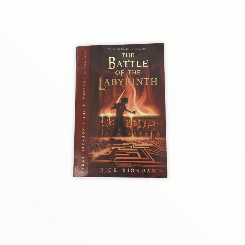 The Battle Of The Labyrin, Book<br /> <br /> #resalerocks #books  #pipsqueakresale #vancouverwa #portland #reusereducerecycle #fashiononabudget #chooseused #consignment #savemoney #shoplocal #weship #keepusopen #shoplocalonline #resale #resaleboutique #mommyandme #minime #fashion #reseller                                                                                                                                      Cross posted, items are located at #PipsqueakResaleBoutique, payments accepted: cash, paypal & credit cards. Any flaws will be described in the comments. More pictures available with link above. Local pick up available at the #VancouverMall, tax will be added (not included in price), shipping available (not included in price), item can be placed on hold with communication, message with any questions. Join Pipsqueak Resale - Online to see all the new items! Follow us on IG @pipsqueakresale & Thanks for looking! Due to the nature of consignment, any known flaws will be described; ALL SHIPPED SALES ARE FINAL. All items are currently located inside Pipsqueak Resale Boutique as a store front items purchased on location before items are prepared for shipment will be refunded.