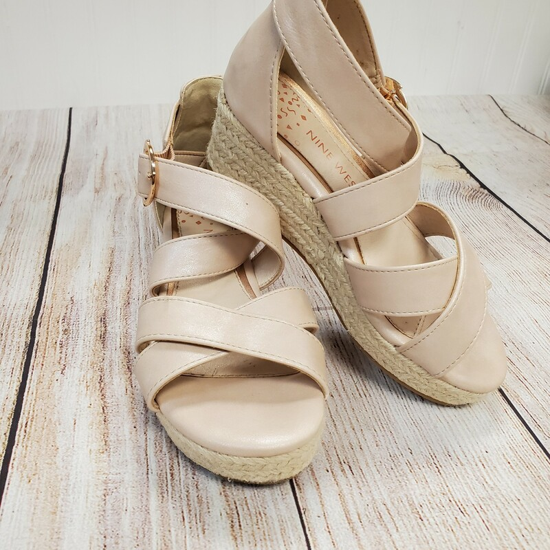 Nine West Wedge Sandals.
