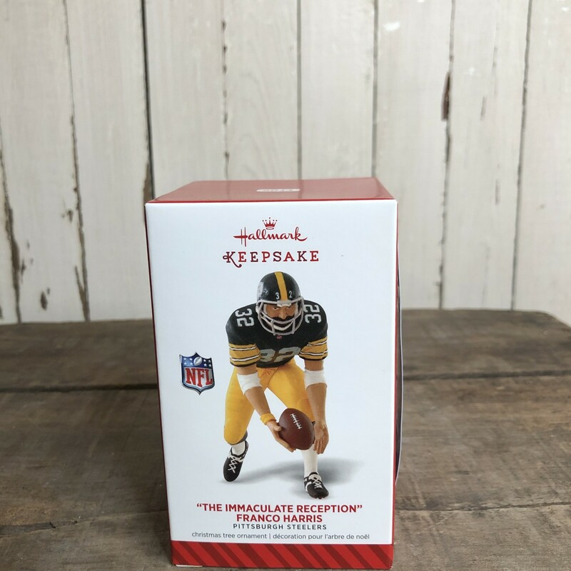Steeler Ornament NIB.