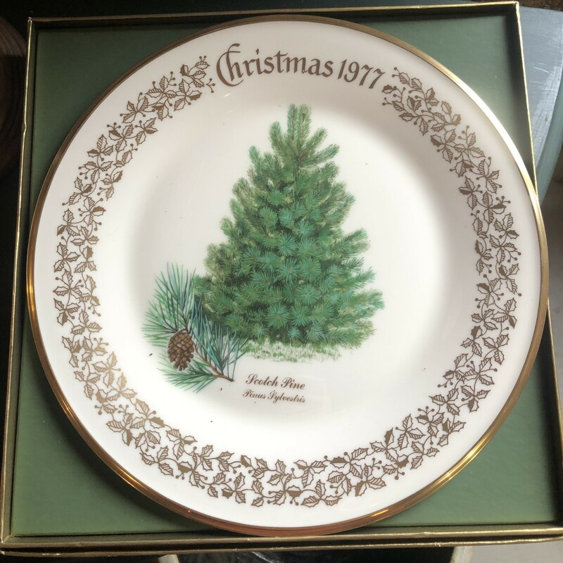 Lenox Christmas Plate, None, Size: None