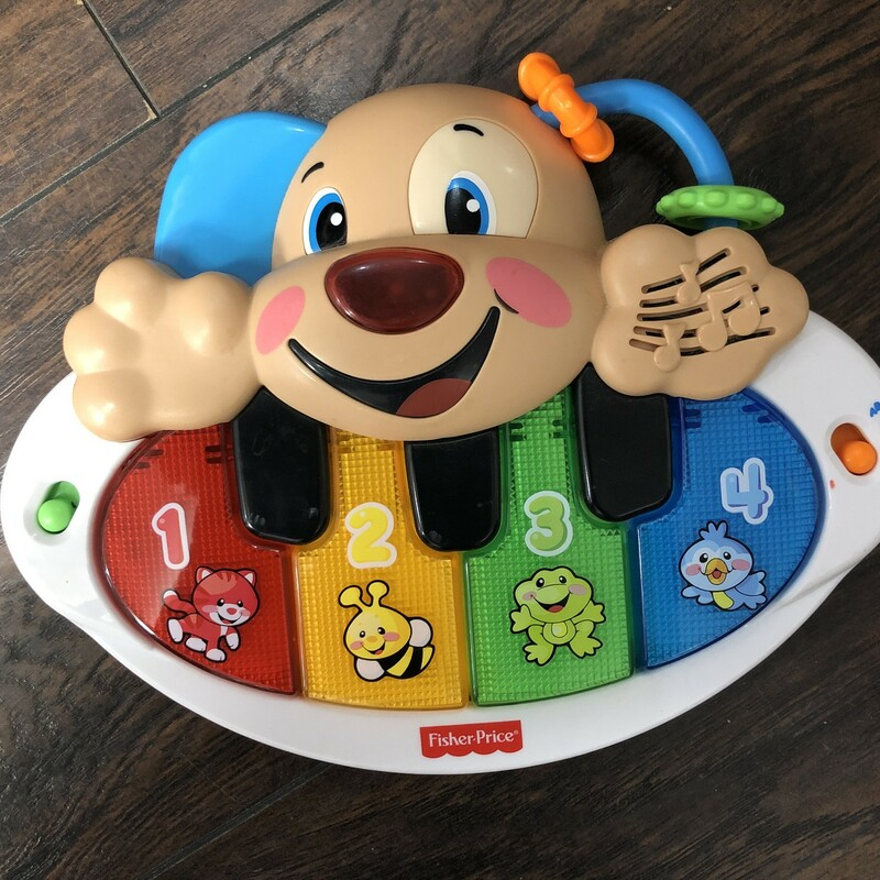 Fisher Price Puppy Piano.