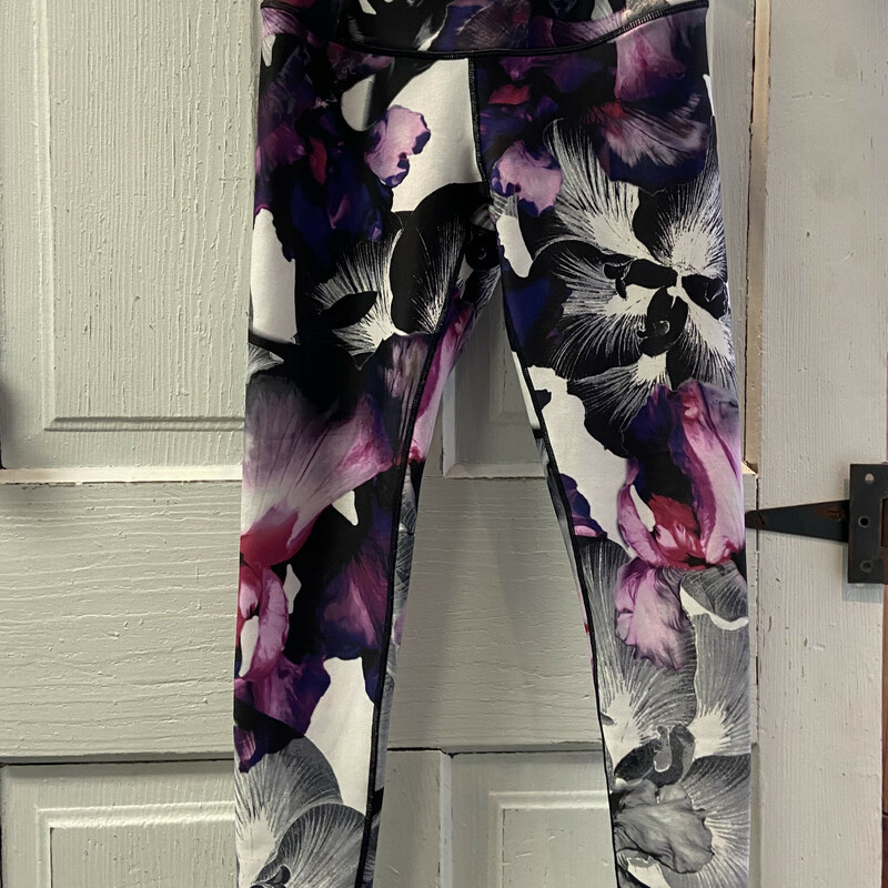 Purple Floral Legging.