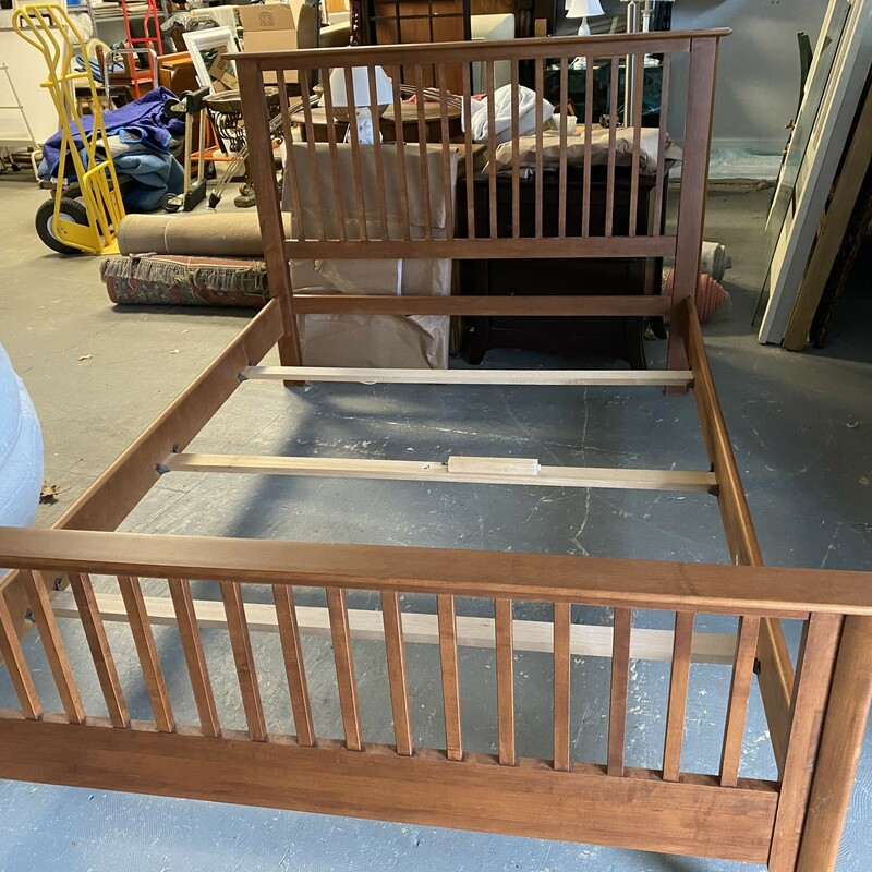 Nadeau Cherry Double Bed.