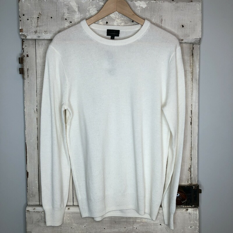 Cashmere Sweater J Crew, Cream, Size: XS NEW!