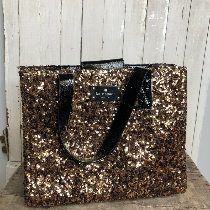 Sequined Satchel Kate S.
