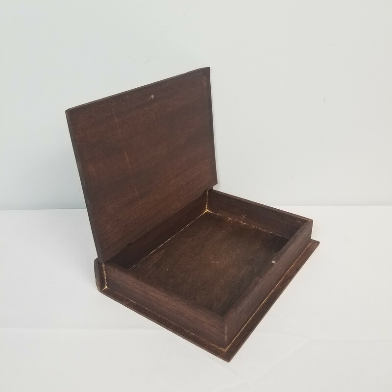 Wood Book Boxes.