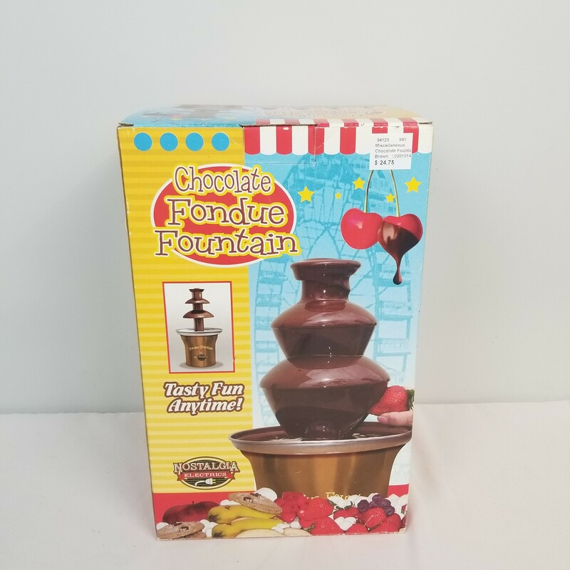 Chocolate Fountain.