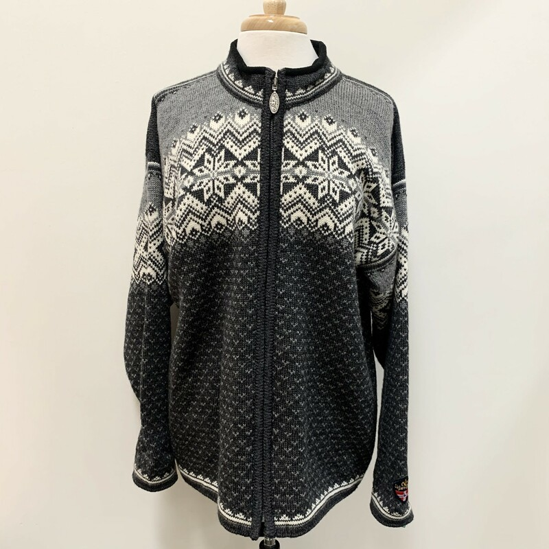 Skjaeveland Wool Sweater.