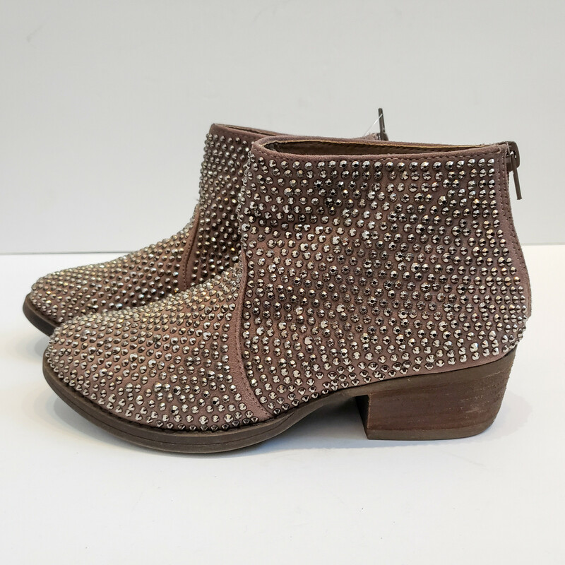 Very G<br /> Taupe Embellished Boot<br />  Size: 8
