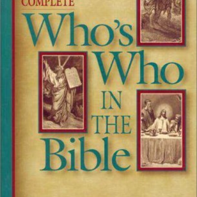 Whos Who In The Bible.