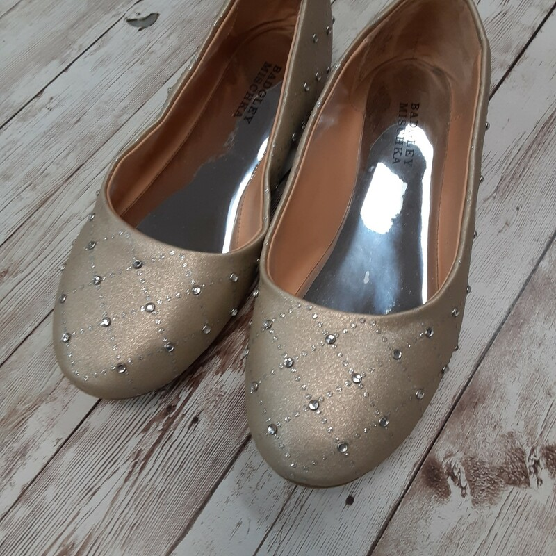 Badgley Mischka Flats.