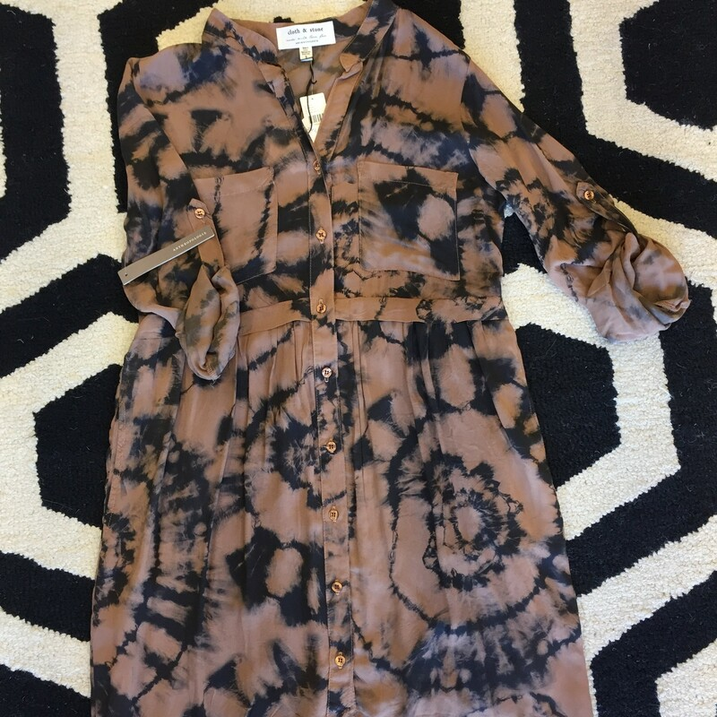 Cloth & Stone LS Dress.