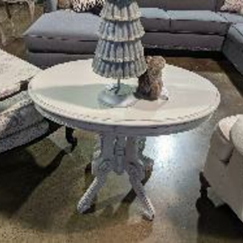 Painted Accent Table.