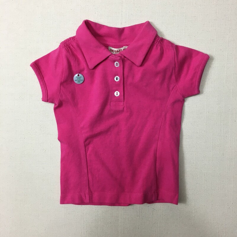 Imps And Elfs Polo, Pink, Size: 12-18M