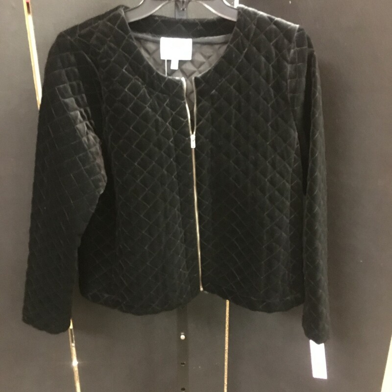 NWT Quilted Velvet Jacket.