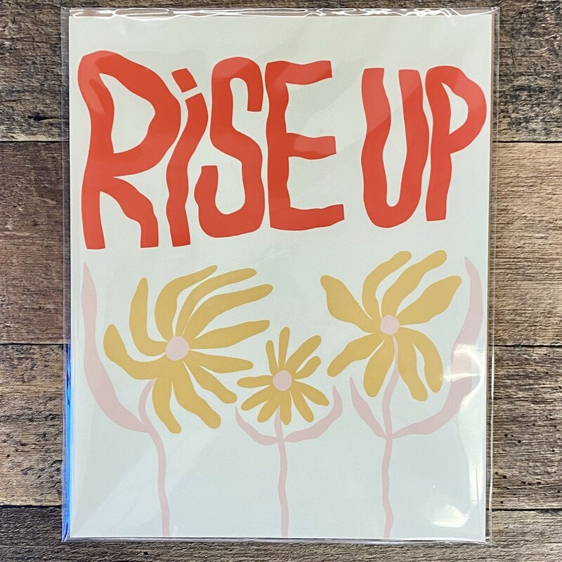 Bekah, Rise Up, Size: 8x10