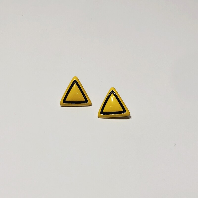 Triangle Earrings.