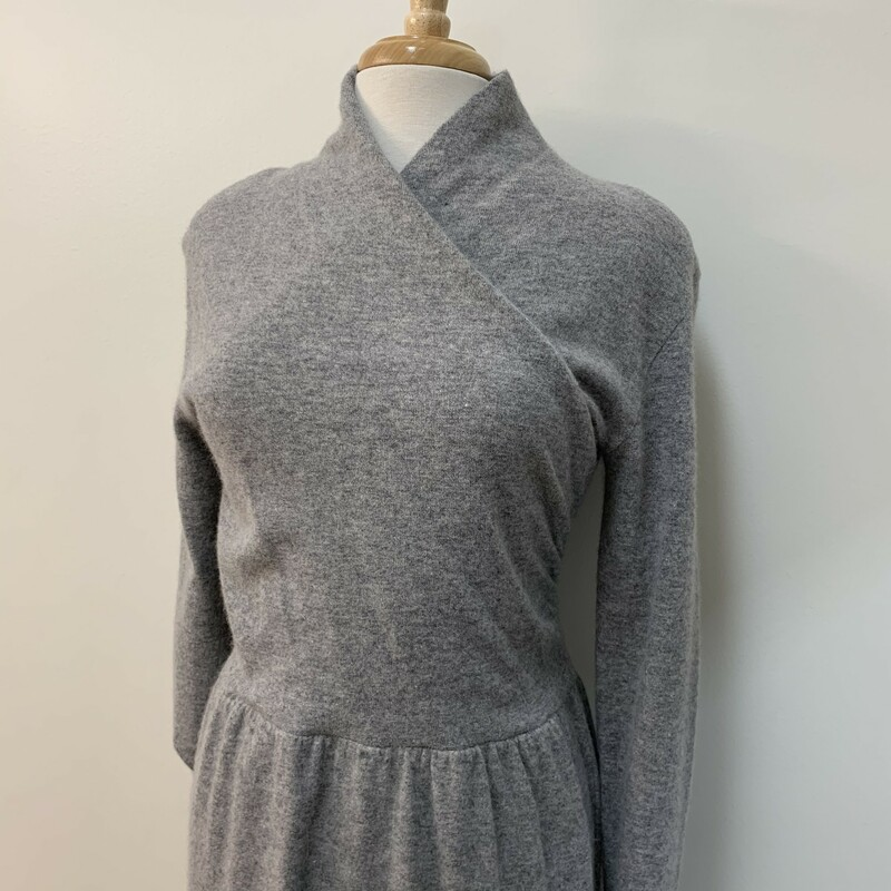 Outlander Sweater Dress<br /> Rabbit Hair Blend<br /> Gray<br /> Size: Medium