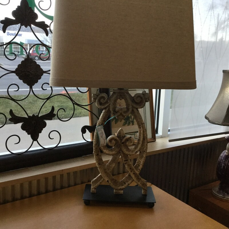Table Lamp Cream, Marquis, Size: 29""