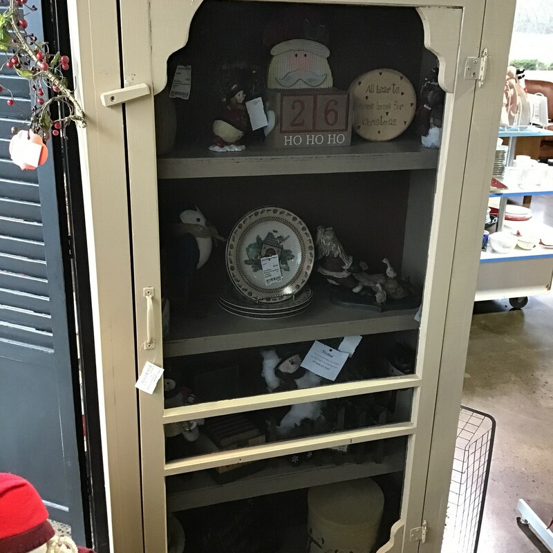 Screen Door Cabinet.