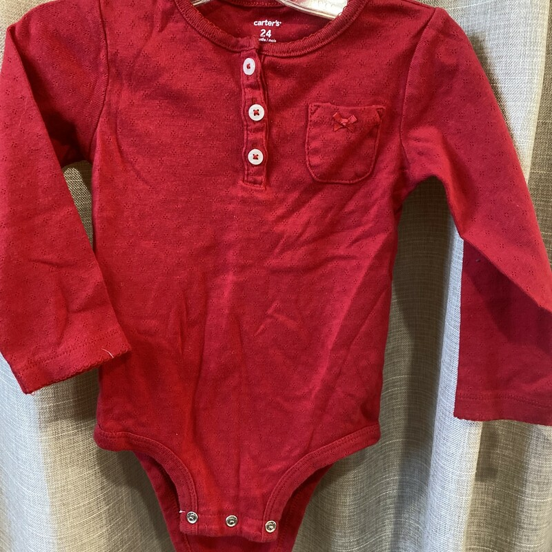 Carters, Red, Size: 24 Mos