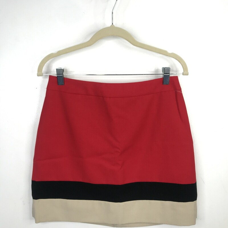 Kate Spade Skirt, Red Blk, Size: 6
