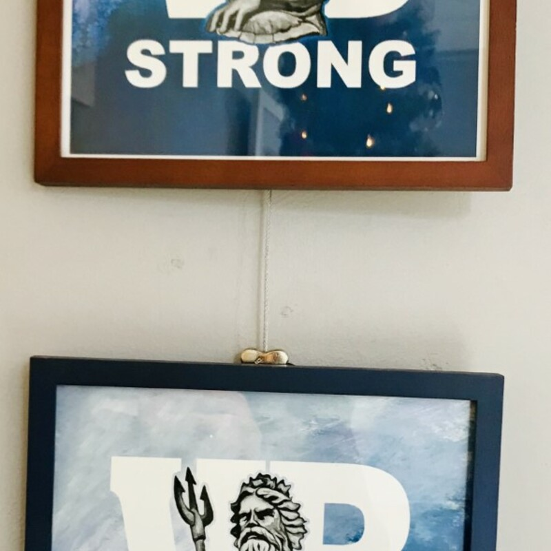 Framed VB Strong Print.