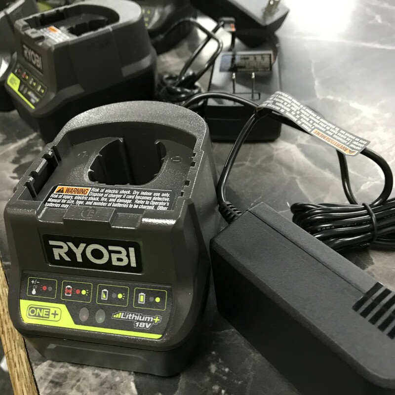 Charger, Ryobi, Size: 18V Dual chemistry charger<br /> model P118B