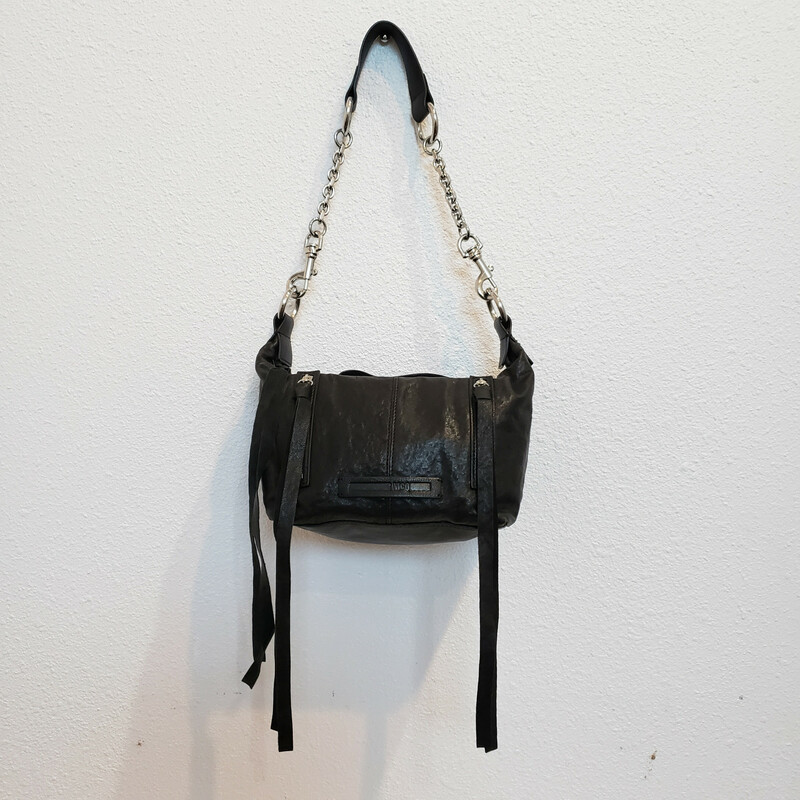 McQ<br /> Black Small Handbag<br /> Top Handle