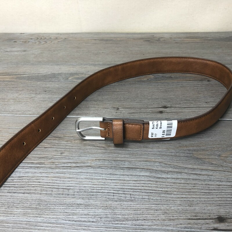 Kids Leather Belt.