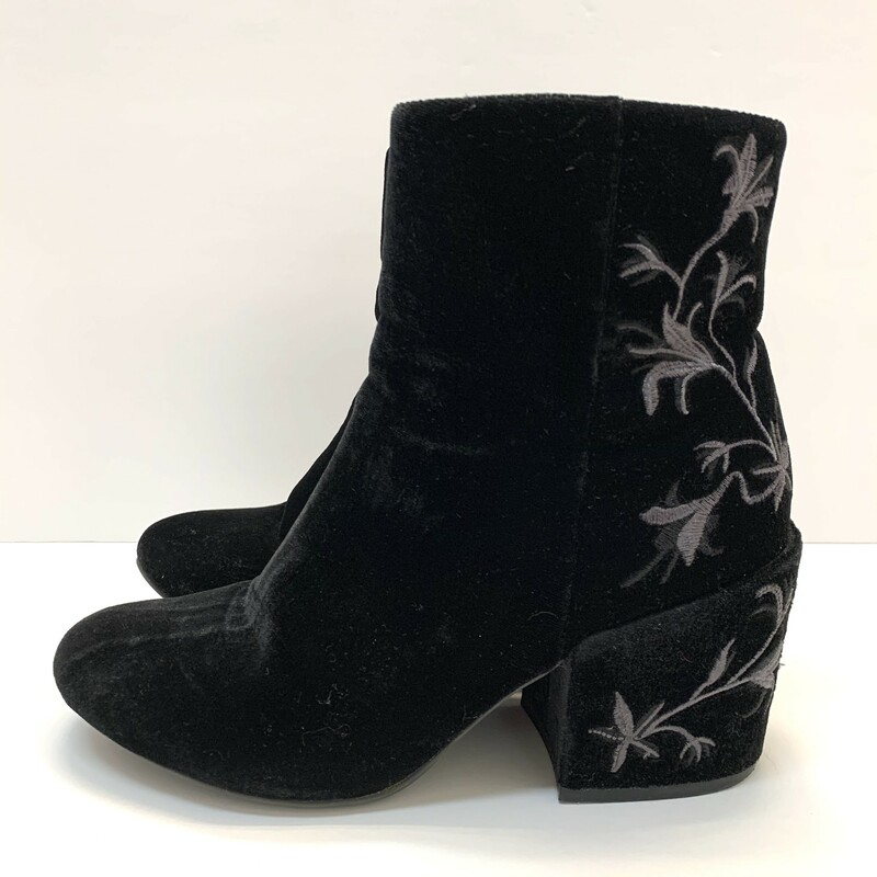 Kenneth Cole Velvet Boots.