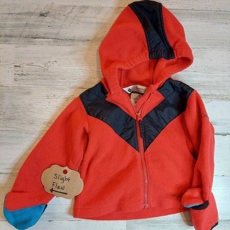 Columbia, Red, Size: 2