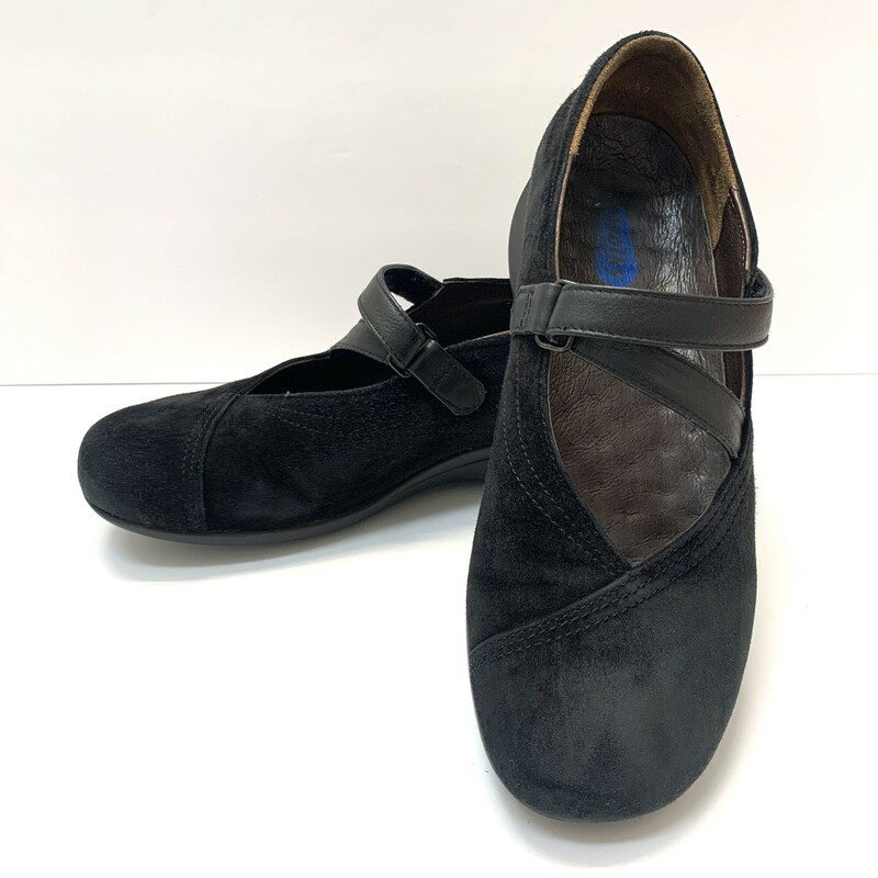Wolky Passion Shoes<br /> Black Suede<br /> Size: 7.5