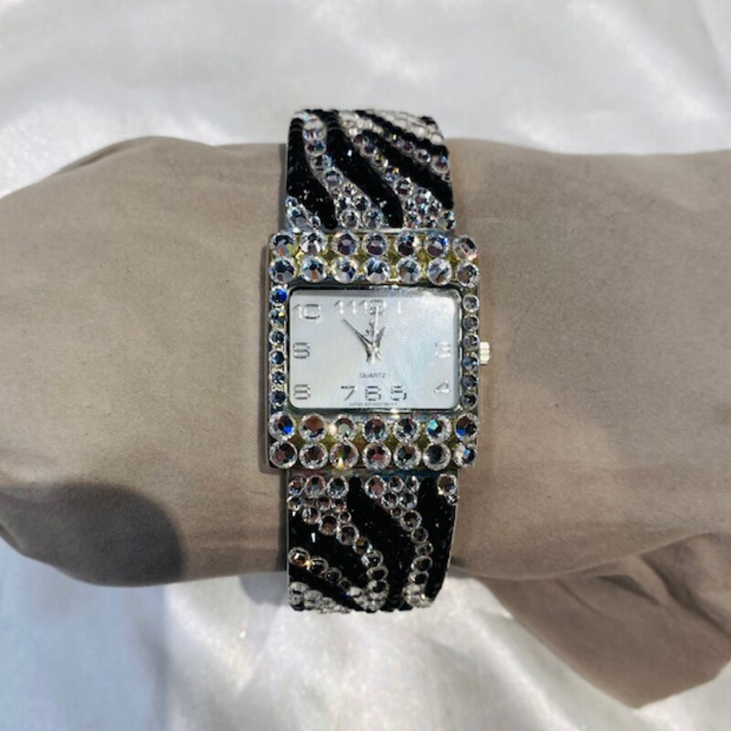 Swarovski Zebra Watch.