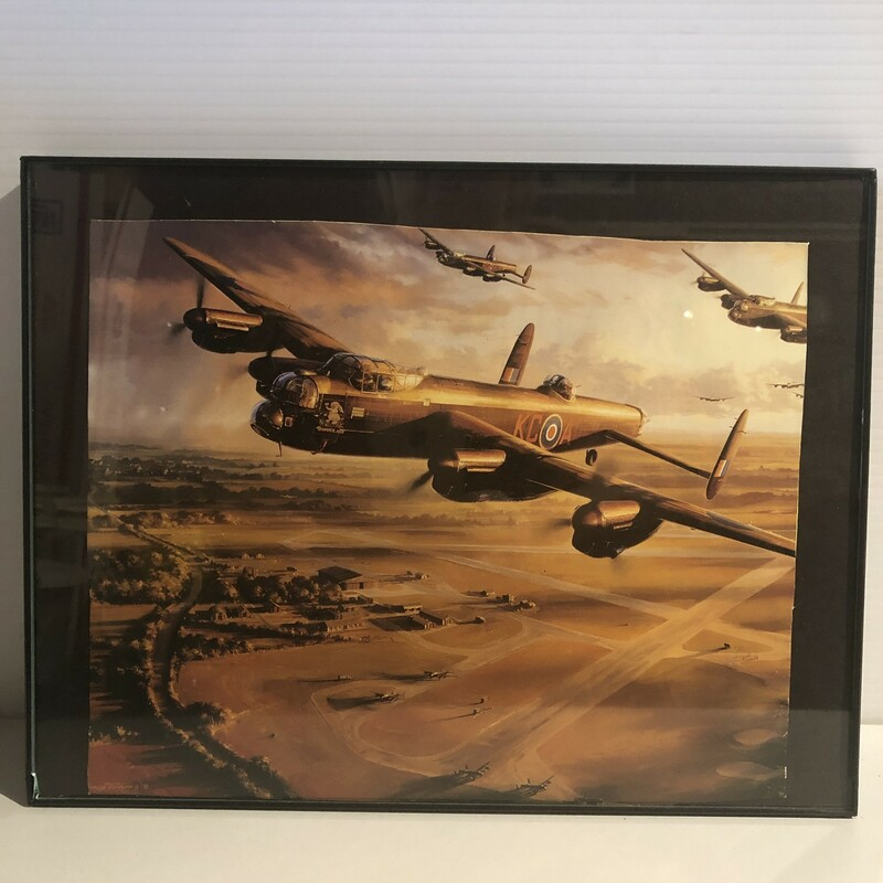 War Airplane Magazine Print, New, Size: 13x10