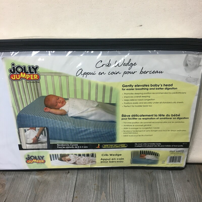 Jolly Jumper Crib Wedge.