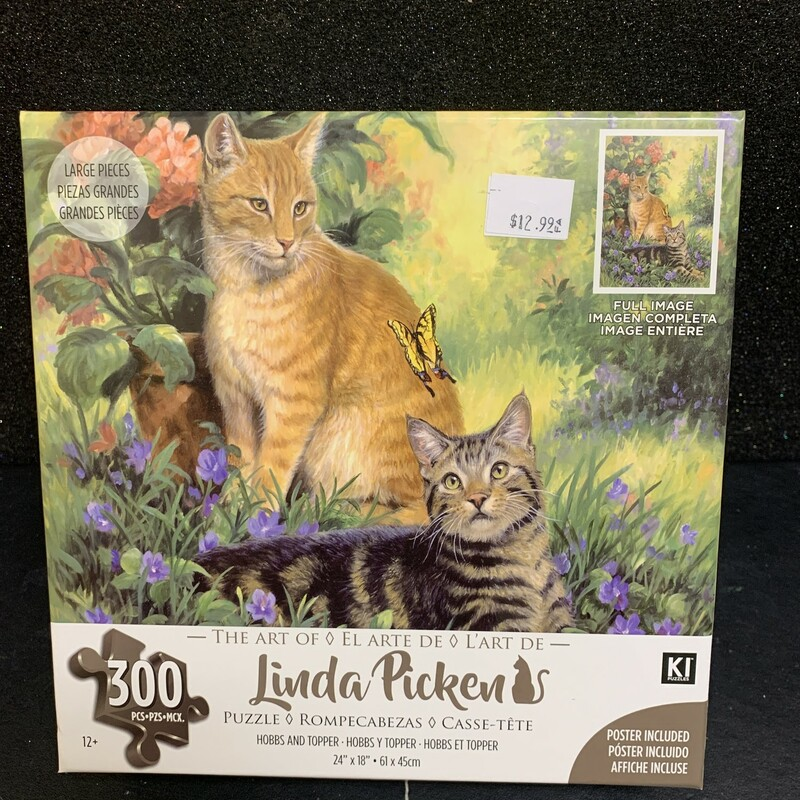 Hobbs And Topper, 12+, Size: Puzzle