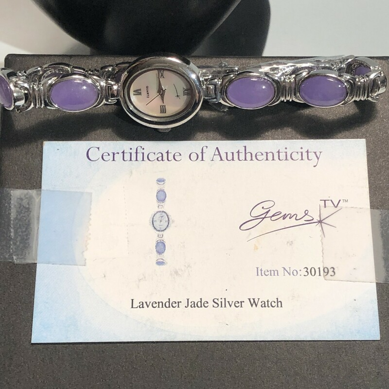 Lavender Jade Watch.