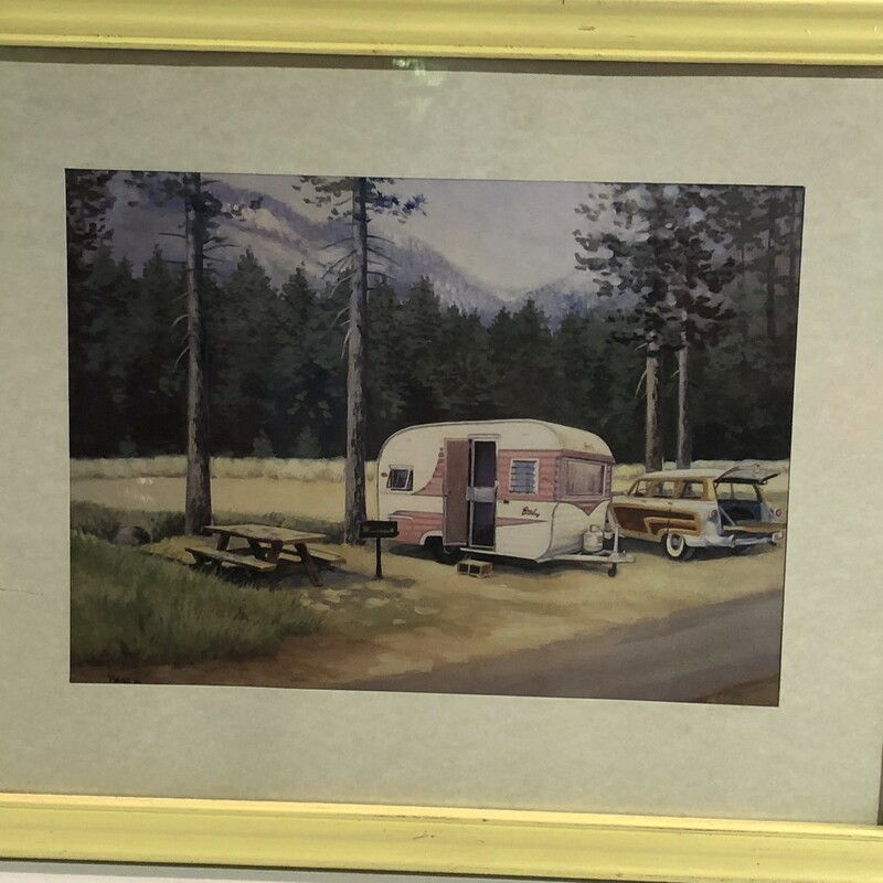 Camp Site Ford, Used, Size: 9x11