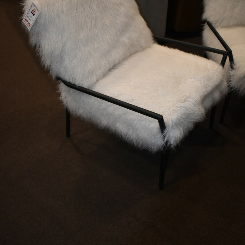 E U3518-0509 Faux Fur Chair BRAND NEW ITEM