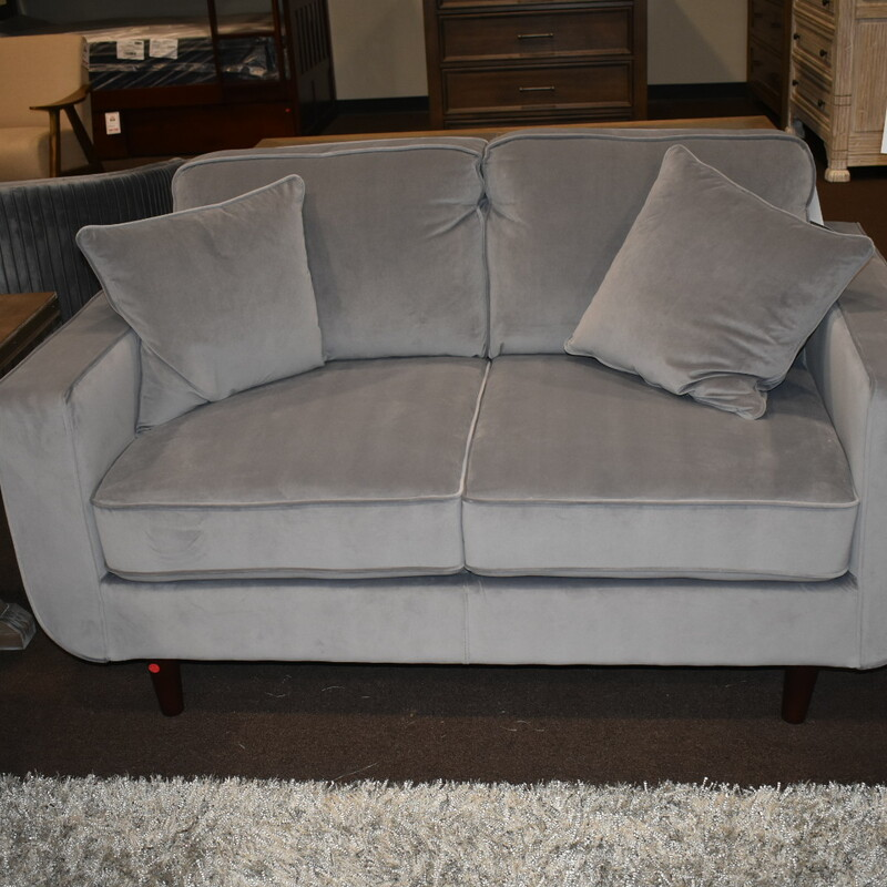 H 9329gy-2 Loveseat Grey BRAND NEW ITEM