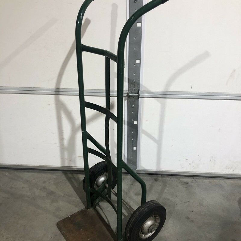 Solid Wheel Hand Truck.