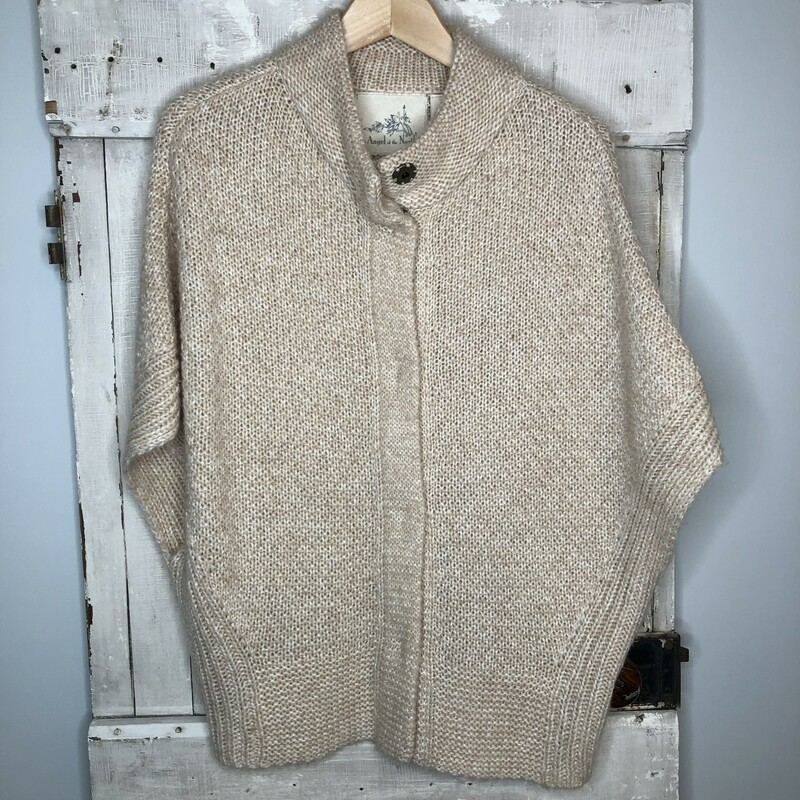 Cardigan Angel of the North, Tan, Size: Small