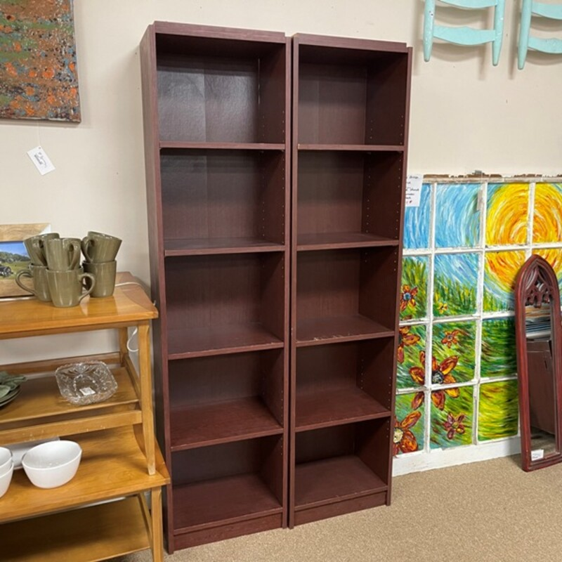 Bookcase Cubbies, Size: 18x12x72